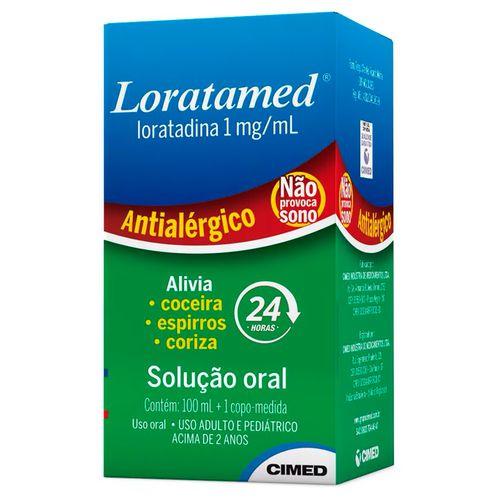 Loratamed Xarope 100ml 1mg