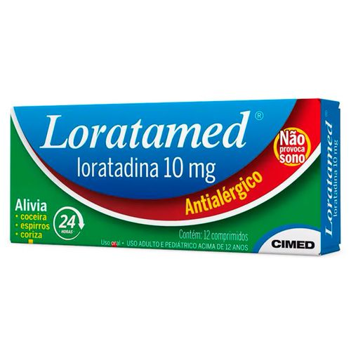 Loratamed 12 Comprimidos 10mg