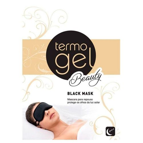 Máscara para Repouso Termogel Beauty Black Mask 1 Unidade