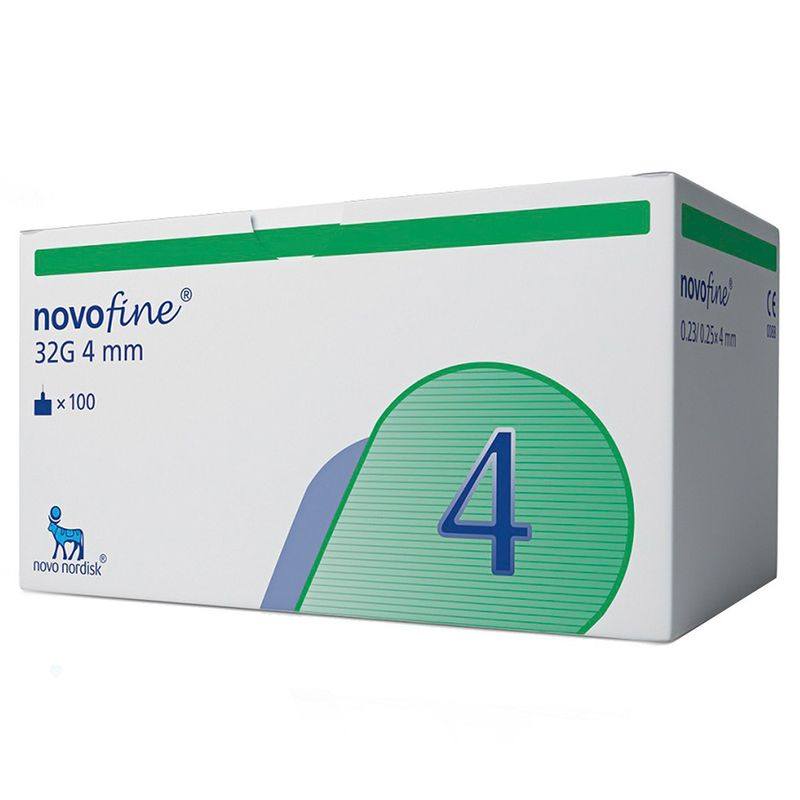 AGULHA-NOVOFINE-4MM-32G-100UN