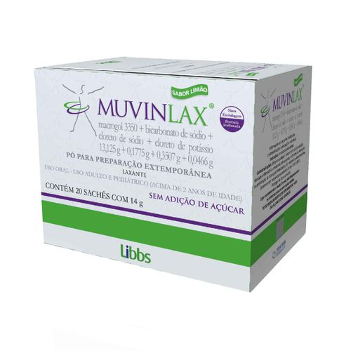 Muvinlax 20 Envelopes 14g