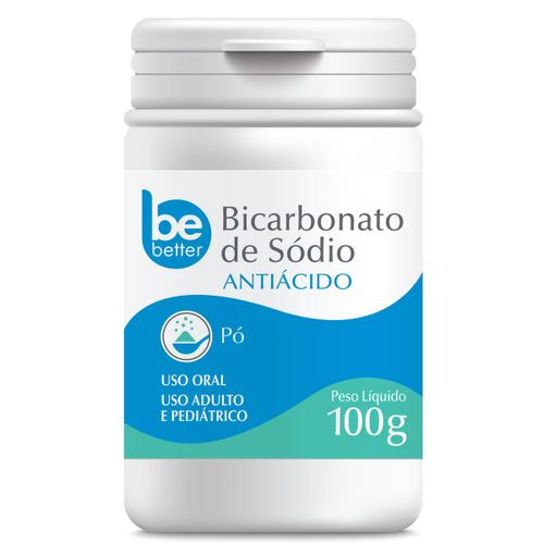 Bicarbonato de Sódio Be Better 100g