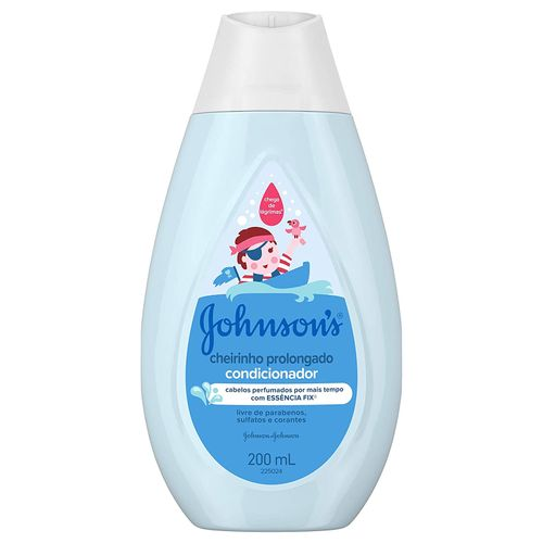Condicionador Johnsons Baby Cheirinho Prolongado 200ml