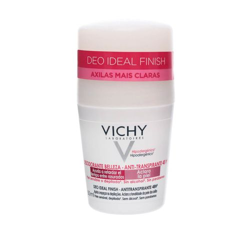 Desodorante Roll On Vichy Deo Dermatológico Ideal Finish 50ml
