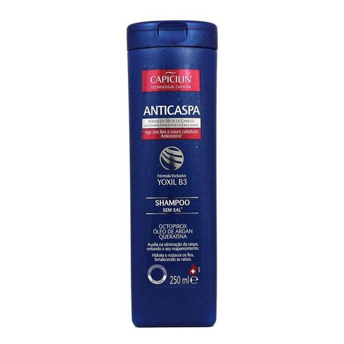 Shampoo Capicilin Anticaspa 250ml