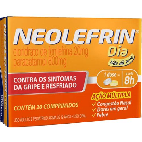 Neolefrin Dia 20 Comprimidos 800mg/20mg