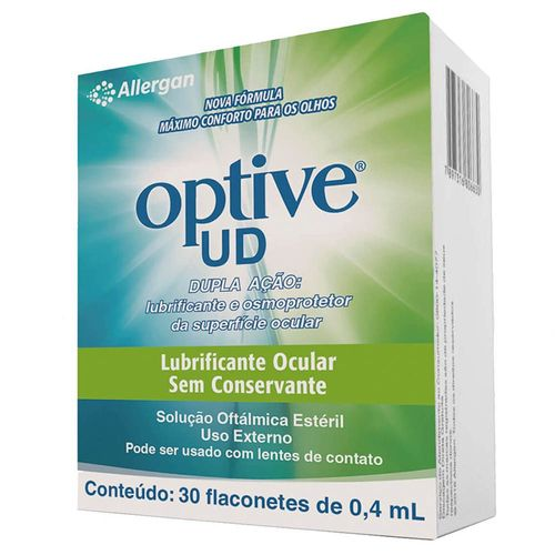 Optive UD 30 Flaconetes de 0,4ml
