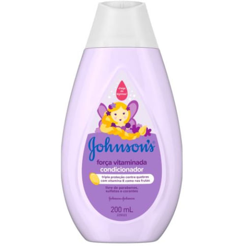 Condicionador Johnsons Baby Força Vitaminada 200ml