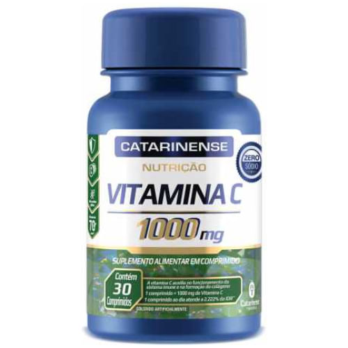 Vitamina C Catarinense 30 Comprimidos 1000mg