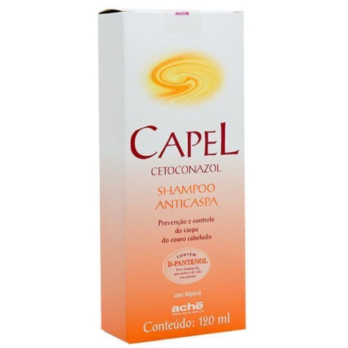 Shampoo Anticaspa Aché Capel 120ml