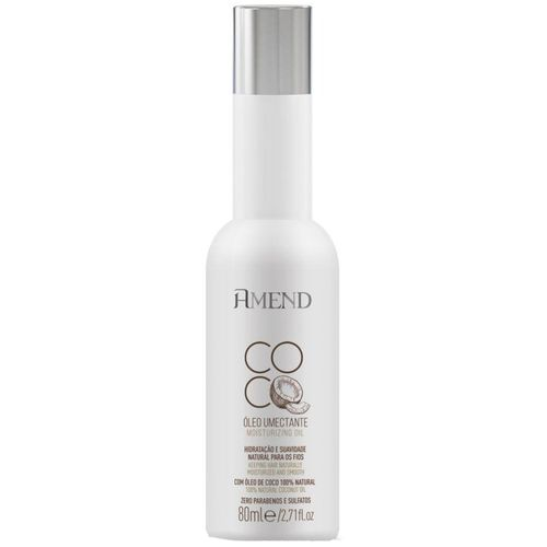 Óleo Umectante Amend Coco 80ml