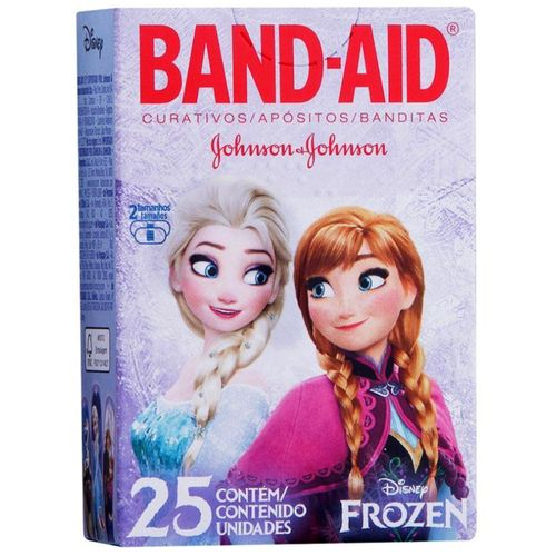 Curativo Band Aid Decorados Frozen 25 Unidades