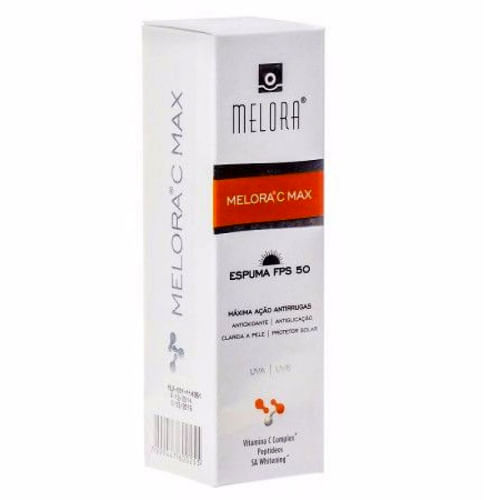 Espuma Facial Melora C Max FPS50 45ml