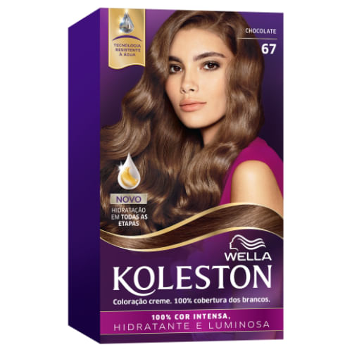 Tintura Wella Koleston Nº 67 Chocolate 1 Unidade