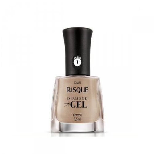 Esmalte Risqué Diamond Gel Cremoso Tiramisú 9,5ml