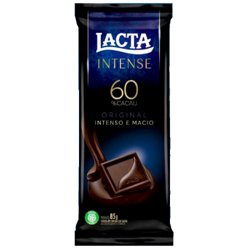 Chocolate Lacta Intense Cacau Original 85g