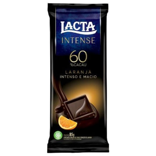 Chocolate Lacta Intense Laranja 85g