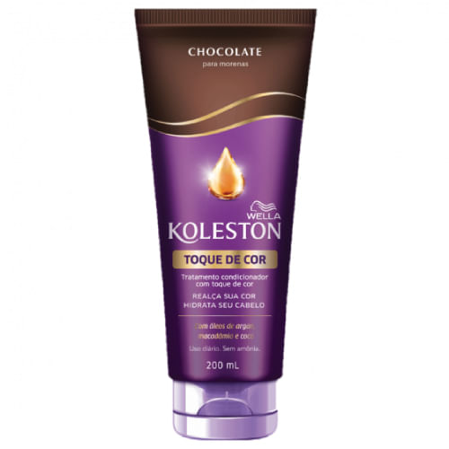 Condicionador Wella Koleston Toque de Cor Chocolate 200ml