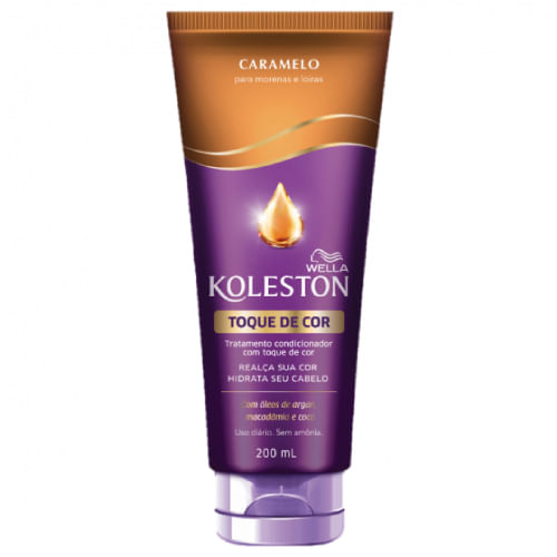 Condicionador Wella Koleston Toque de Cor Caramelo 200ml