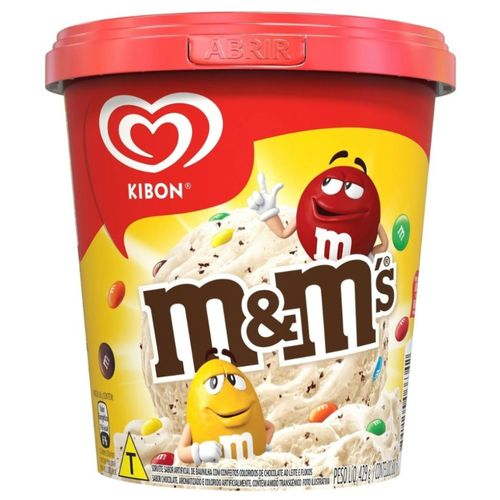 Sorvete Kibon Blast M&M's 800ml