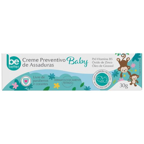 Creme Preventivo de Assaduras Be Better Baby  30g