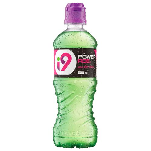 Isotônico i9 Powerade Uva Verde 500ml