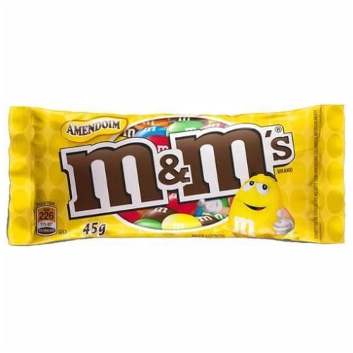 Confeitos de Chocolate com Amendoim M&M's 45g