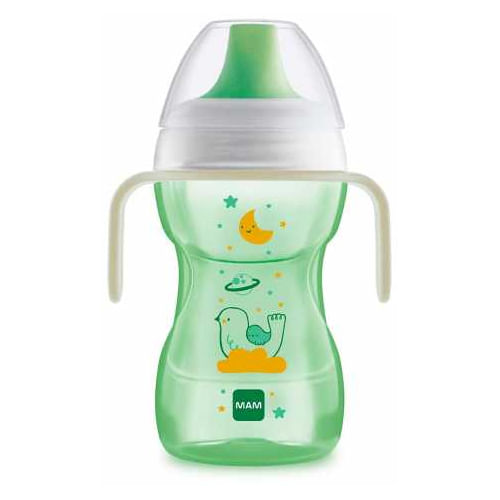 Copo MAM Fun to Drink Neutro 270ml 1 Unidade