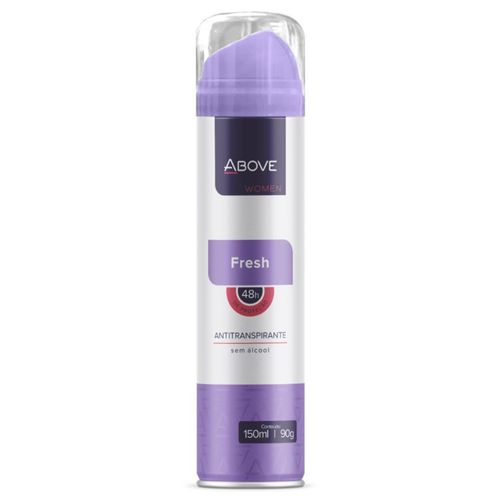 Desodorante Antitranspirante Aerosol Above Women Fresh 150ml