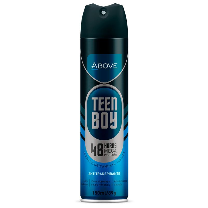 Desodorante-Antitranspirante-Masculino-Above-Teen-Boy-Aerosol-150ml